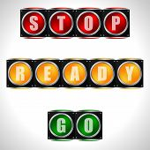 Traffic Lights With Instructions