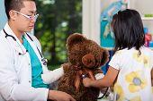 Teddy Bear During Examination