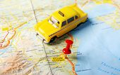 Katerini Greece Map Taxi