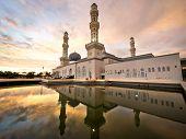 Floating Mosque In Kota Kinabalu, Sabah, Malaysia