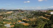 Dalat In Central Vietnam Aerial View