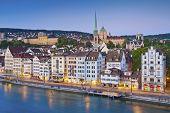 stock photo of zurich  - Image of Zurich - JPG
