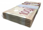 Canadian Dollar Notes Bundles