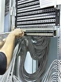 Assembly Network Patch Panels