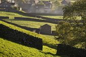 Village, Yorkshire Dales, Yorkshire, England