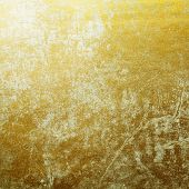 abstract gold background foil.