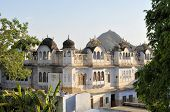 Traditional architecture in Pushkar, Rajasthan