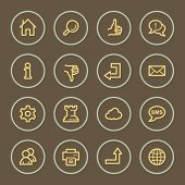 Basic web icons set, coffee series