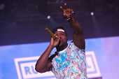 Band Rudimental performing on main stage at Exit Festival