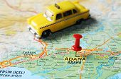 Adana ,turkey  Map Taxi