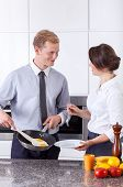 Businessman Made Poached Egg For Wife