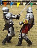 Knights At Battle