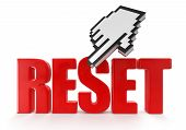 Reset  and cursor (clipping path included)