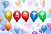 Party Balloon Colorful Balloons