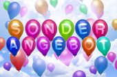 German - Special Offer - Balloon Colorful Balloons