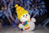 Christmas Snowman Toy