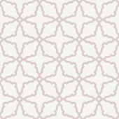 Grey and Pink Geometric Seamless Vector Abstract Pattern