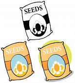 Bag Of Seeds. Collection Set