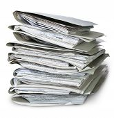 Files Arranged In Chaotic Stack