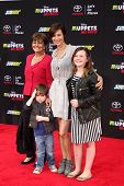 LOS ANGELES - MAR 11:  Catherine Bell, family at the