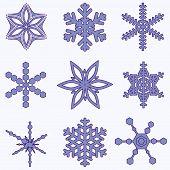 Simply Snowflake Set