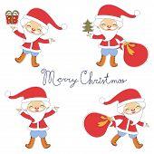 Cute Santas collection