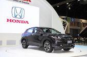 Bangkok - November 28: Honda Hr-v Car On Display At The Motor Expo 2014 On November 28, 2014 In Bang