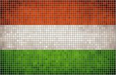 Mosaic Flag of Hungary