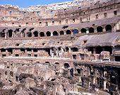 Colosseum detail, Rome.