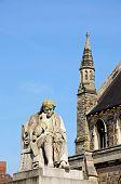 Dr Johnson statue, Lichfield.