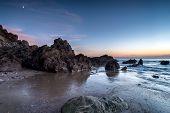 Dusk At Sharrow Beach