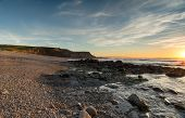 Sunset In Bude