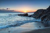Hemmick On The Cornwall Coast