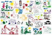 Stylized Children's Drawings