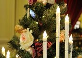 Christmas Tree, Electric Candles