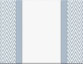 pic of chevron  - Blue and White Chevron Zigzag Frame with Ribbon Background with center for copy - JPG