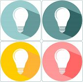 Light Bulb, Vector Illustration