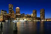 foto of row houses  - Boston Custom House - JPG