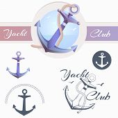 pic of yachts  - Anchor logo - JPG
