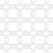 foto of interlocking  - Seamless geometric background - JPG