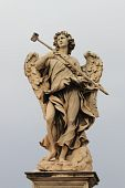 Angel statue in Rome