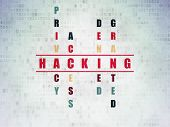 picture of hack  - Privacy concept - JPG