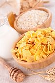 picture of cereal bowl  - bowl of cereals - JPG