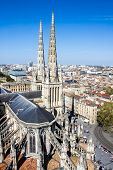 image of bordeaux  - Aerial view of the St - JPG
