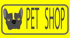 foto of emblem  - Pet shop emblem - JPG