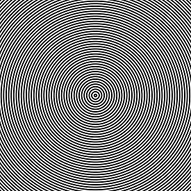 foto of hypnotic  - Hypnotic spiral illustration backround - JPG