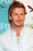 LOS ANGELES - AUGUST 8:  David Beckham in the Press Room  at the 2010 Teen Choice Awards at Gibson A