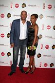 LOS ANGELES - AUGUST 6:  Stephen Belafonte & Mel B aka Mel Brown at the Comcast Entertainment Group Summer 2010 TCA Cocktail Party at Beverly Hilton Hotel on August 6, 2010 in Beverly Hills , CA