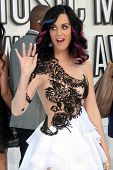 LOS ANGELES - SEP 12:  Katy Perry arrives at the 2010 MTV Video Music Awards  at Nokia - LA Live on
