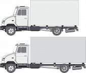 Delivery / Cargo Truck 2